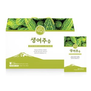 Jeju Farm Raw Balsam Apple Juice 80ml × 30 pouches