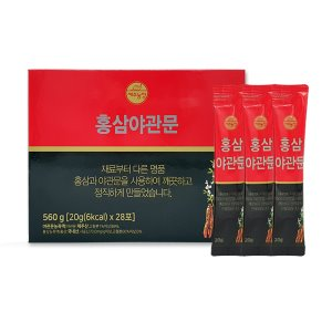 Jeju Farm Red Ginseng Chinese Lespedeza  20g X 28 Pouches
