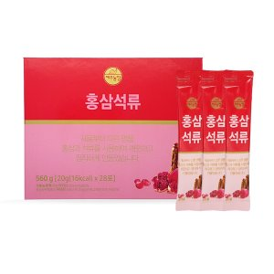 Jeju Farm Red Ginseng pomegranate 20g X 28 Pouches